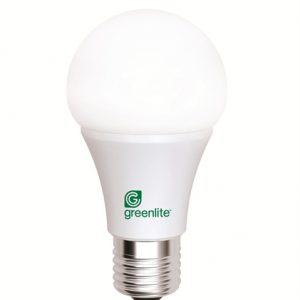 7W LED A19 Omni Dimmable Greenlite Bulb