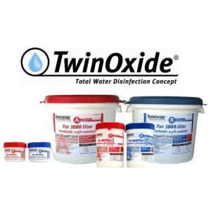 Twin Oxide Water Disinfection